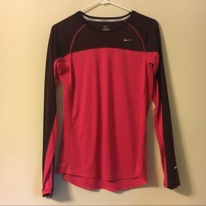 Nike Running Pink Dri-Fit Shirt